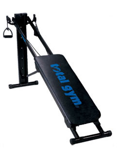 Total Gym 2000 payment plan - First payment $49.95 + 5 monthly payments of $109.89